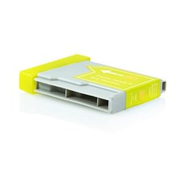 BROTHER LC1000Y compatible - Cartouche d'encre jaune