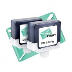 Cartouche Pitney Bowes DM INFINITY compatible (lot de 2)