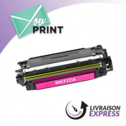 HP CF323A / 653A alternatif - Toner Magenta