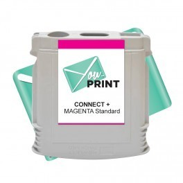 Cartouche Pitney Bowes SendPro Connect+ compatible MAGENTA