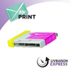BROTHER LC1000M alternatif - Cartouche d'encre magenta
