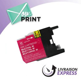 BROTHER LC1280XLM compatible - Cartouche d'encre magenta