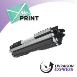 CANON 729BK / 4370B002 alternatif - Toner Noir