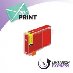 CANON BCI-6 R / 8891 A 002 alternatif - Cartouche Rouge